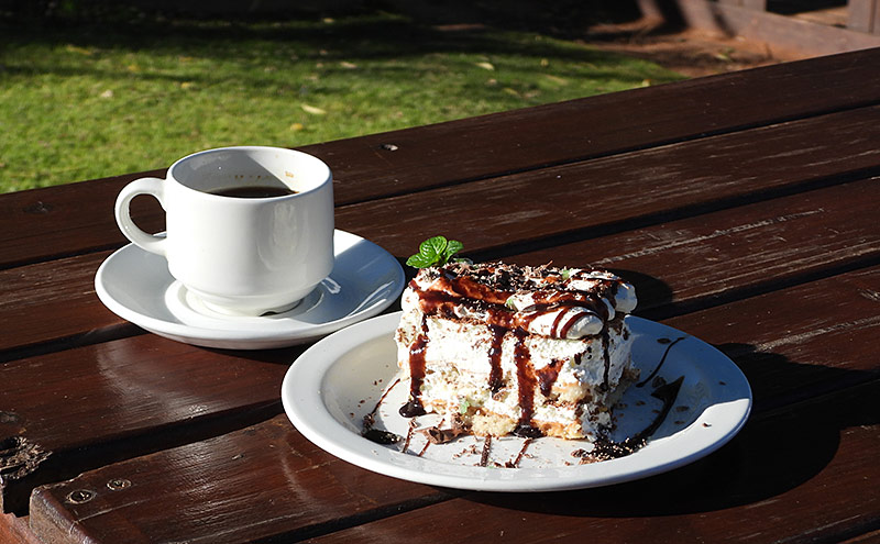Cake of the day - Oudtshoorn Restaurant
